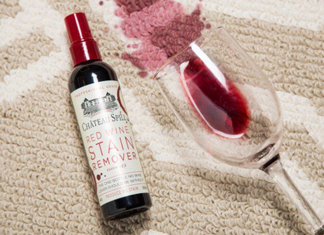 the best thing to use to get wine and stain out of your clothes