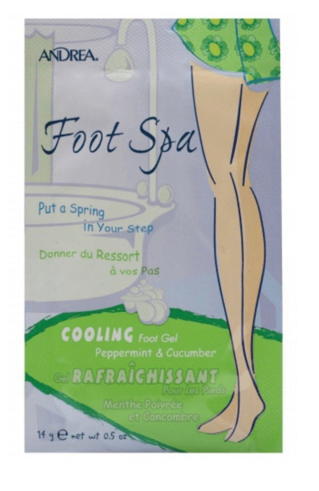 Foot Spa Foot gel with cooling cucumber and peppermint