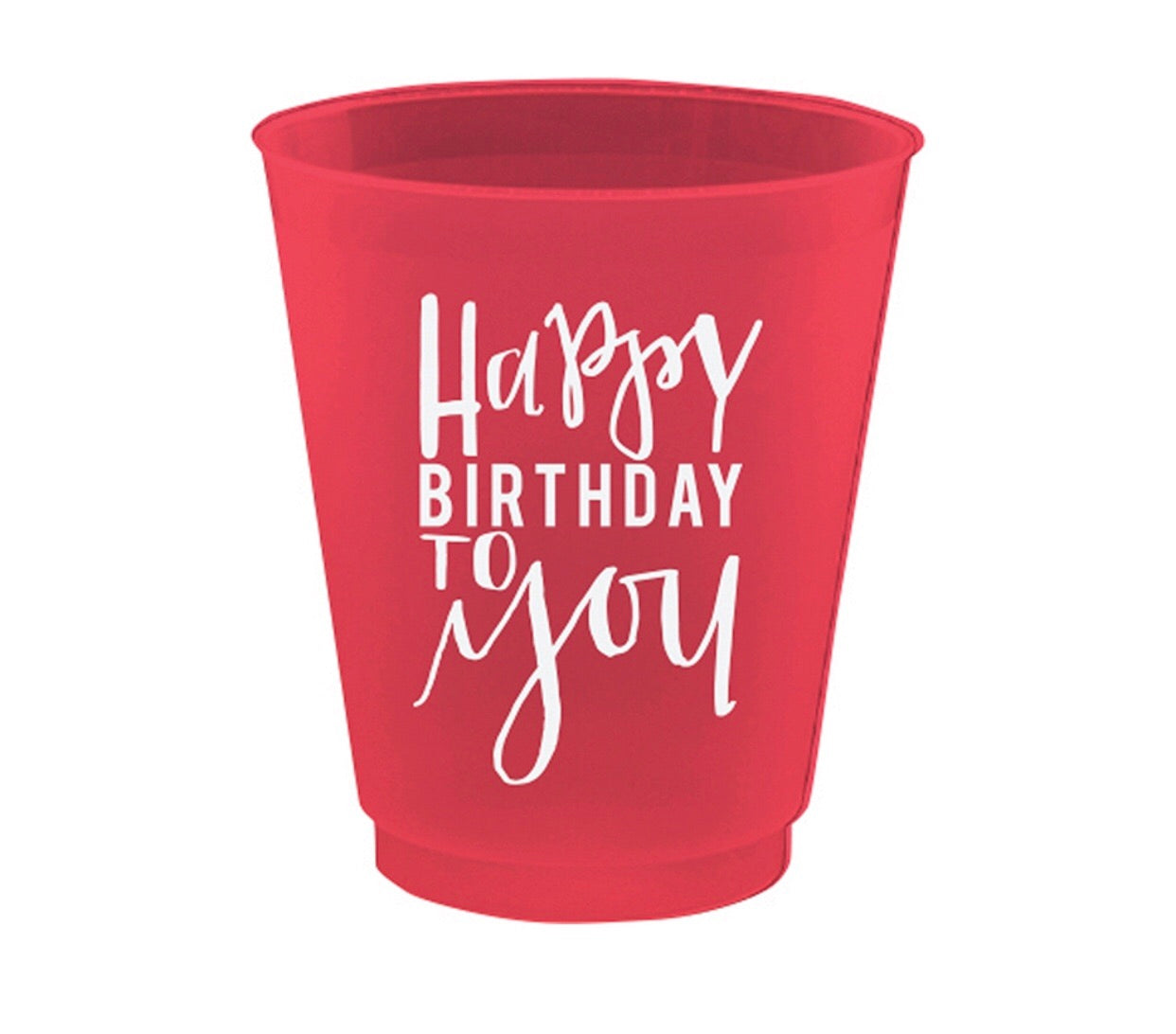 Happy Birthday to you shot glasses