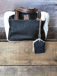 STS Cowhide Makeup Bag