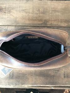 STS Leather Shave Bag