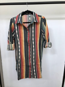 Charcoal Serape Dress