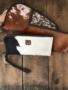 STS Cowhide Clutch