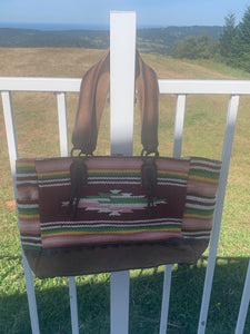 STS Buffalo Girl Tote