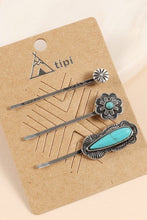 Turquoise Bobby Pins