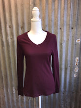Burgundy Long Sleeve Thermal