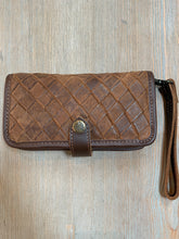 STS Leather Cross Body Wallet