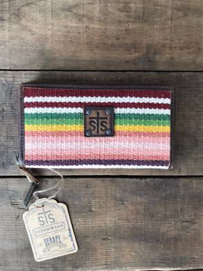 STS Buffalo Girl Bi-Fold Wallet