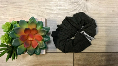 Dark Grey Scrunchie