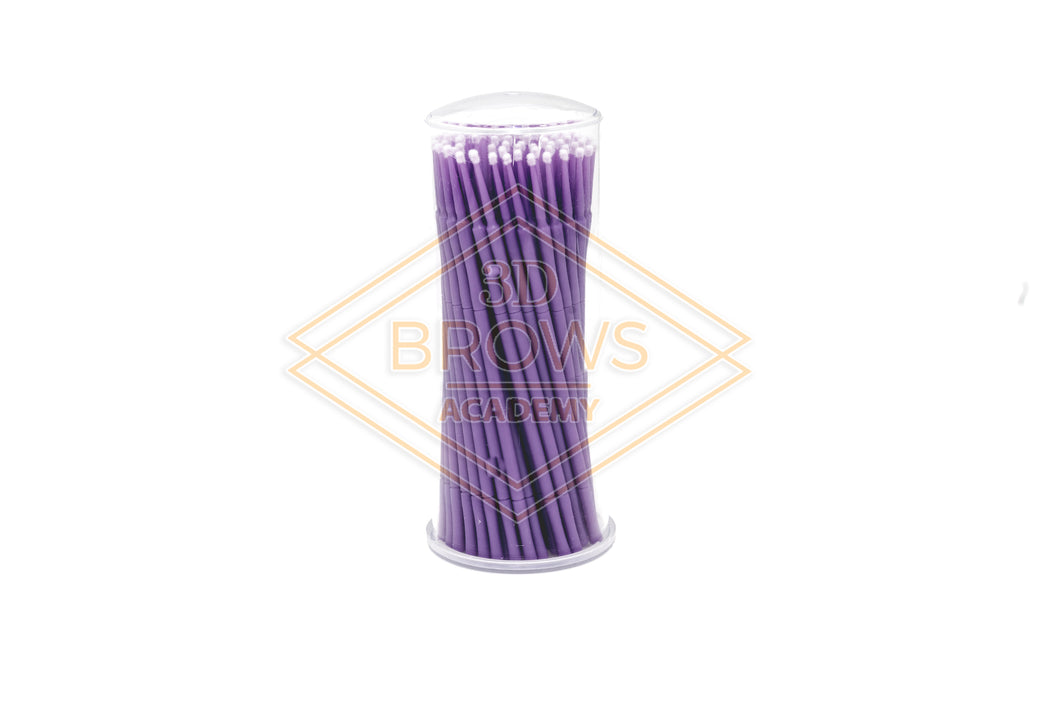 Lint Free Microfiber wands jar of 100