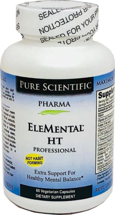 EleMental HT - Optimal Relaxation Support for High Tension, Stress & Mood