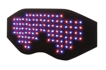 Red & Blue LED LLLT Face Pad