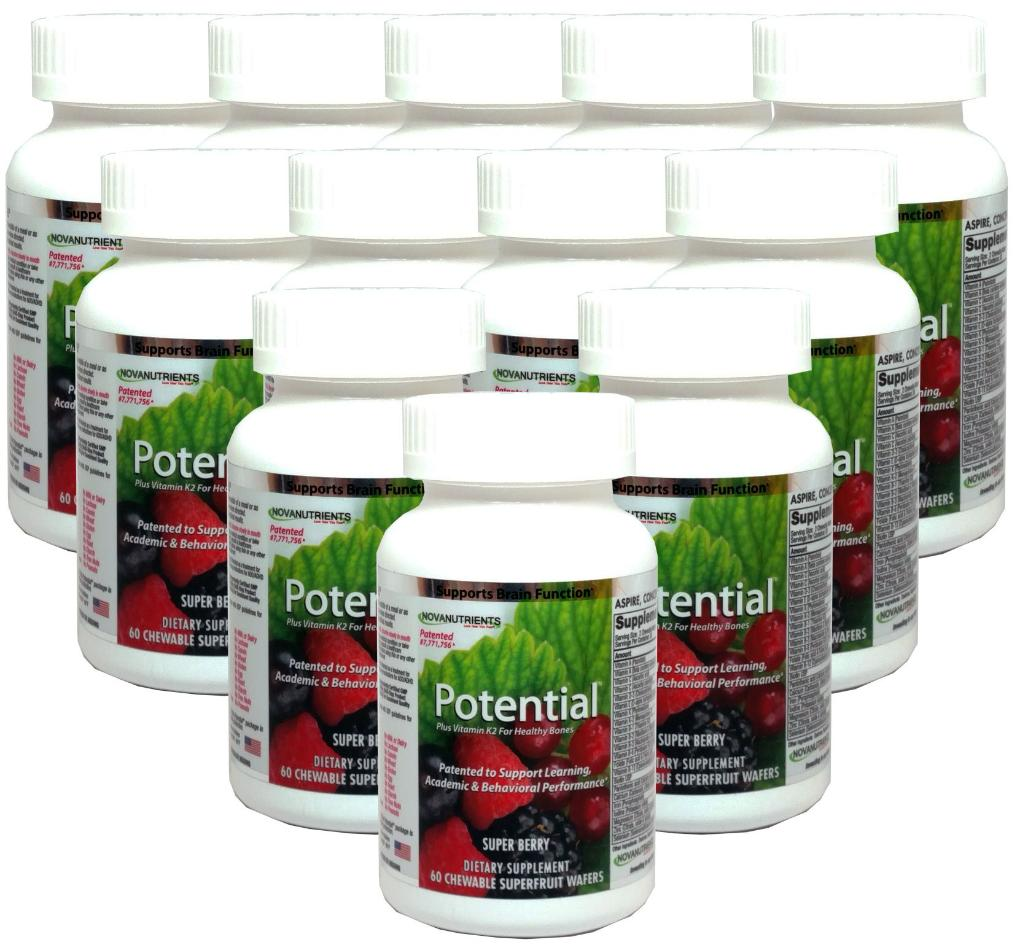 Potential (Case of 12-Buy 11 Get 1 Free) - Patented for Learning, Academic Performance & Behavior