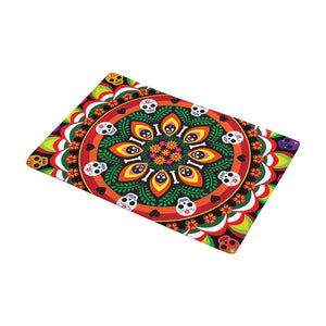 Day of the Dead Mandala Doormat