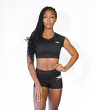 Forward Tee and Shorts Set - Black