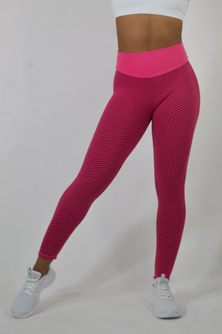 Honeycomb - Hot Pink