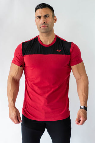 Phenom Varsity T-Shirt - Red