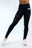 Body Phenom Women's Mesh Insert Leggings