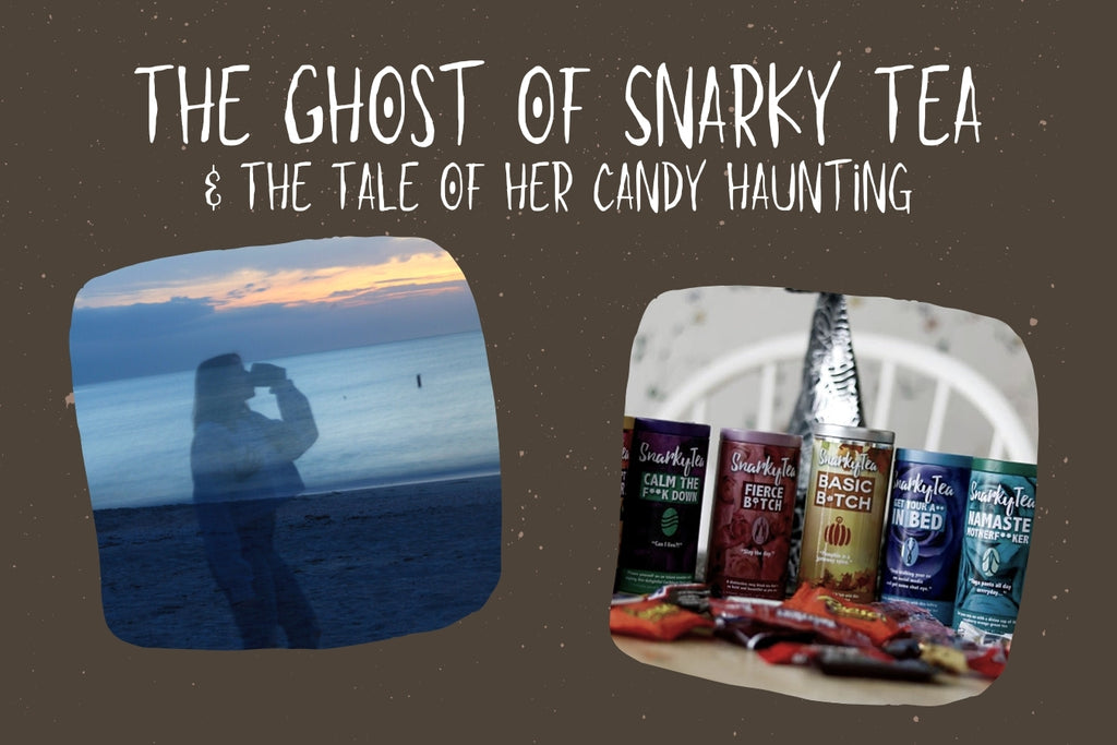 The Ghost Of Snarky Tea's Ghoulishly Good Tea & Halloween Candy Combos