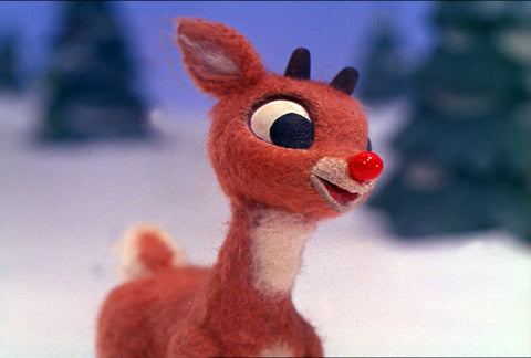 Fitmas in July Rudolph the Red Nose Reindeer