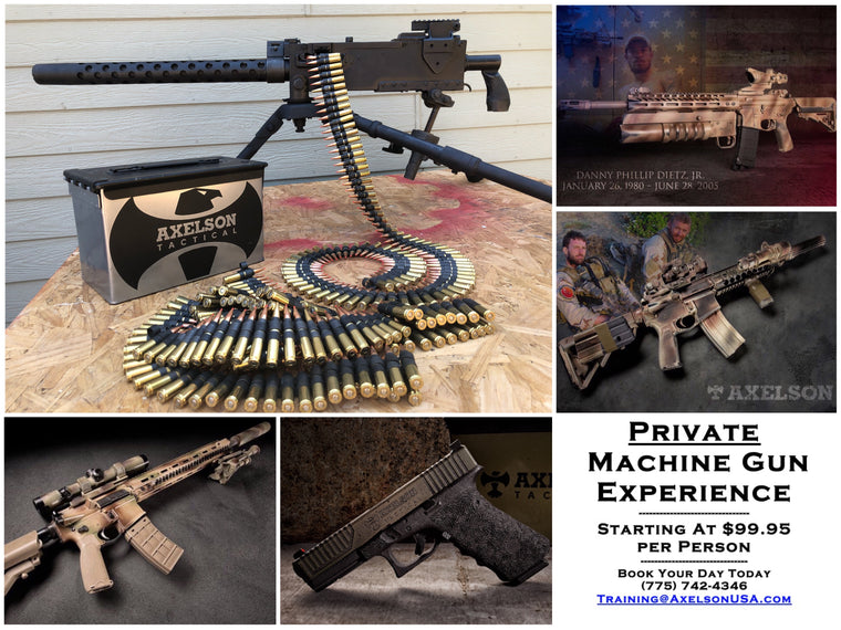 T9 - EXCLUSIVE: MACHINE GUN EXPERIENCE -- (A Private Full-Auto Event)