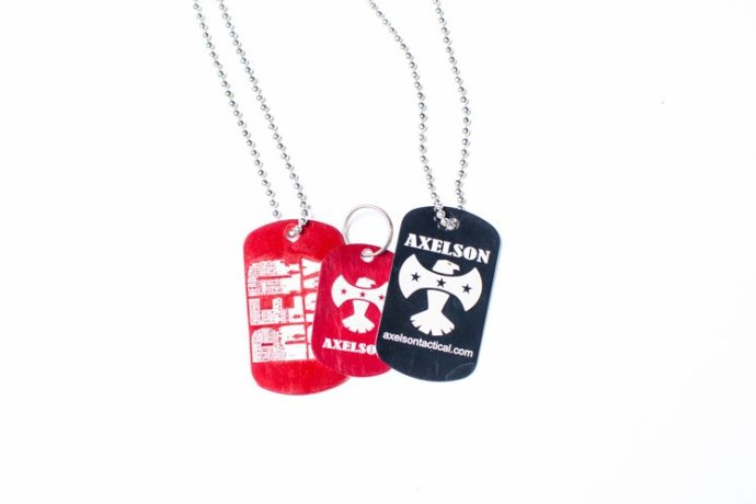 AXELSON TRIBUTE DOG TAGS