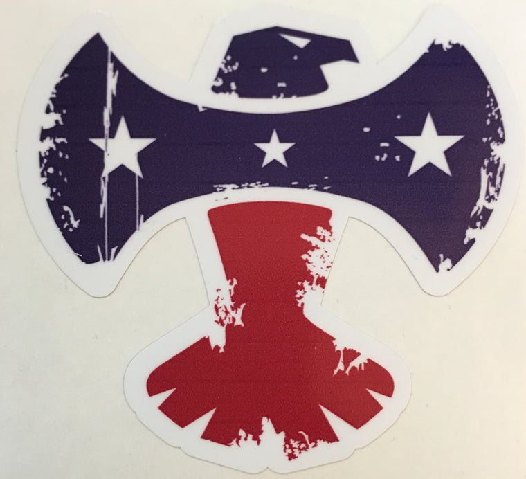 AXE EAGLE PATRIOT DECAL