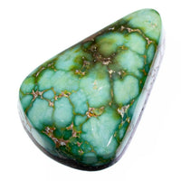 SONORAN GOLD Turquoise Cabochon Cab Natural Web Not Carico Lake 9.65 for Ring