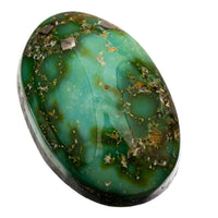 A+ SONORAN GOLD Turquoise Cabochon Cab Natural Web Not Carico Lake 11.95c 4 Ring