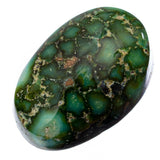 A+ SONORAN GOLD Turquoise Cabochon Cab Natural Web Not Carico Lake 6.65 fr Ring