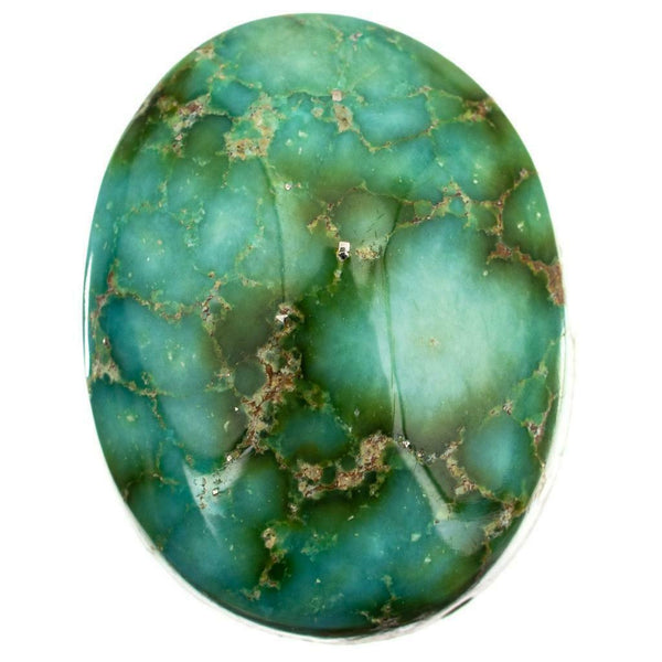 SONORAN GOLD Turquoise Cabochon Cab Natural Web Not Carico Lake 9.75c 4 Necklace