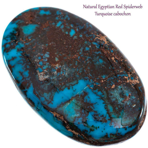 EGYPTIAN TURQUOISE Cabochon Cab ANCIENT Natural Gem Rough  NOT BISBEE 81.4ct BIG