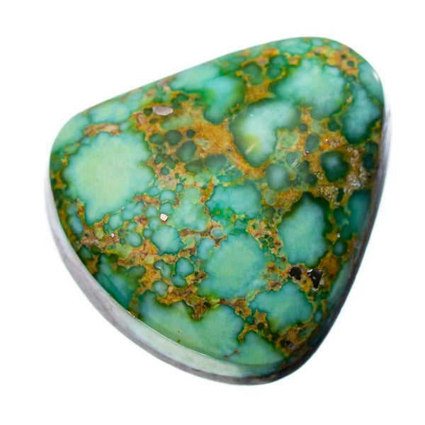 SONORAN GOLD Turquoise Cabochon Cab Natural Web Not Carico Lake 7.55ct for Ring