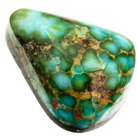 A++ SONORAN GOLD Turquoise Cabochon Cab Natural Spiderweb Not Carico Lake 8.95ct