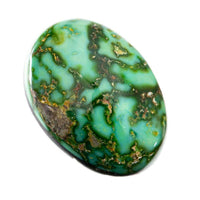 SONORAN GOLD Turquoise Cabochon Cab Natural Web 8.60ct for Ring Not Carico Lake
