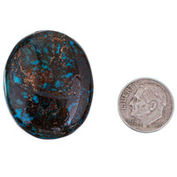 EGYPTIAN TURQUOISE Cabochon Cab ANCIENT Natural Gem NOT Lavender Pit BISBEE 79ct