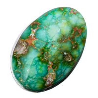 SONORAN GOLD Turquoise Cabochon Cab Natural Web Not Carico Lake 5.2ct for Ring