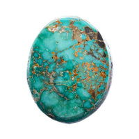 CARICO LAKE TURQUOISE Cabochon Cab Natural BLUE WEB Spiderweb 8.6CT Gem