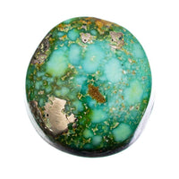 SONORAN GOLD Turquoise Cabochon Cab Natural Web Not Carico Lake 5.20ct for Ring