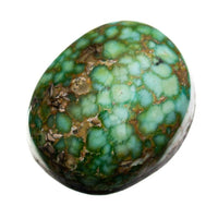 A+ SONORAN GOLD Turquoise Cabochon Cab Natural Web Not Carico Lake 9.05 4 Ring