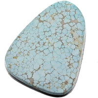 Natural #8 Turquoise Number Eight EDGAR Turquoise Cabochon Cab RARE 30 carats