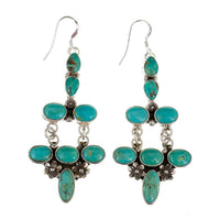 C. Wylie Navajo Turquoise Earrings
