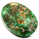 SONORAN GOLD Turquoise Cabochon Cab Natural Spiderweb Not Carico Lake 11.25ct