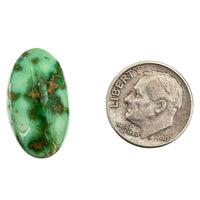 SONORAN GOLD Turquoise Cabochon Cab Natural Web Not Carico Lake 11.55ct for Ring