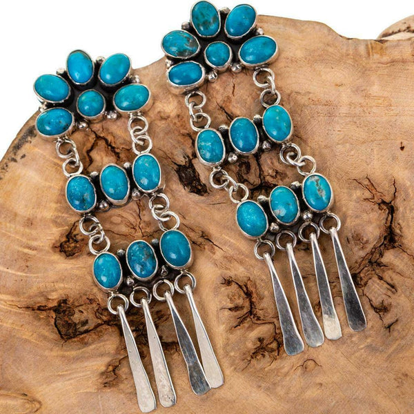 Ronald Platero Turquoise Earrings