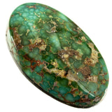 SONORAN GOLD Turquoise Cabochon Cab Natural Spiderweb Not Carico Lake 8.30ct