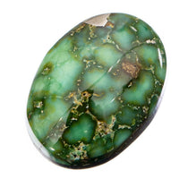 SONORAN GOLD Turquoise Cabochon Cab Natural Web Not Carico Lake 6.10ct 4 Jewelry