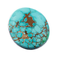 CARICO LAKE TURQUOISE Cabochon Cab Natural BLUE WEB Spiderweb 7.30CT Gem