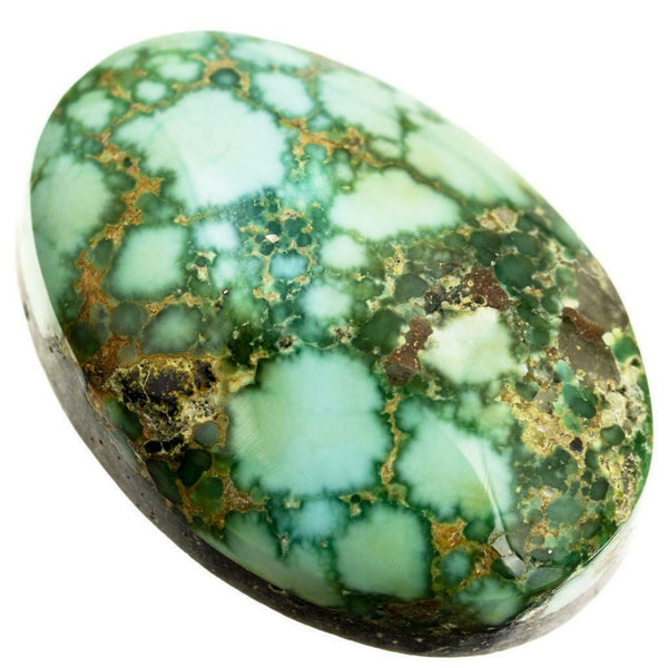 SONORAN GOLD Turquoise Cabochon Cab Natural Spiderweb Not Carico Lake 8.75ct