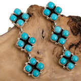 D. Sandoval Turquoise Totem Earrings